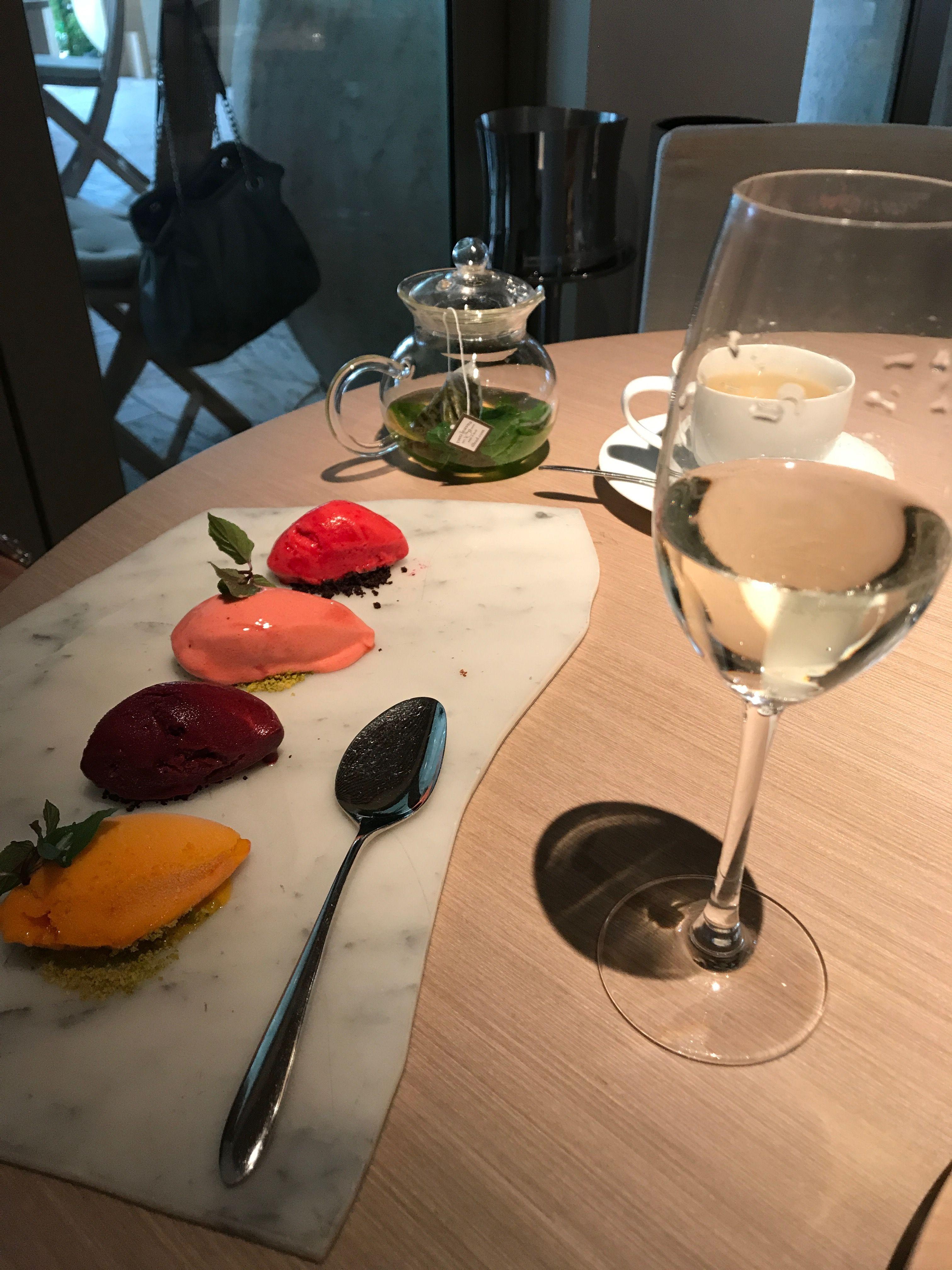 Sorbet Tasting At Forte Dei Marmi Miami Beach Miami Restaurants