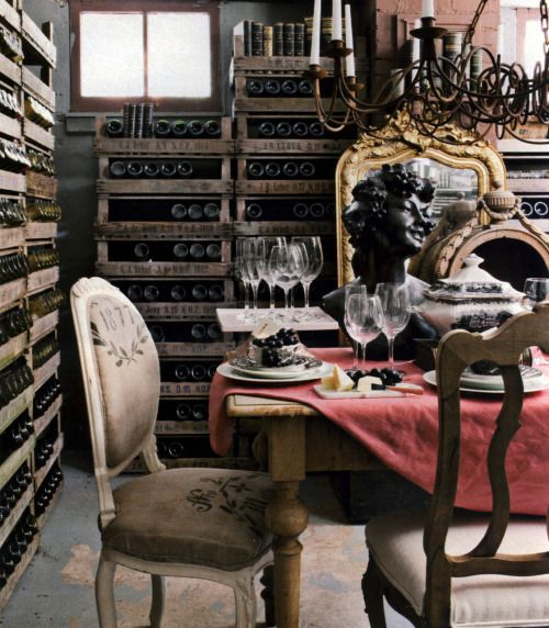 This Basement Wine Cellar Is Definitely One Of Our