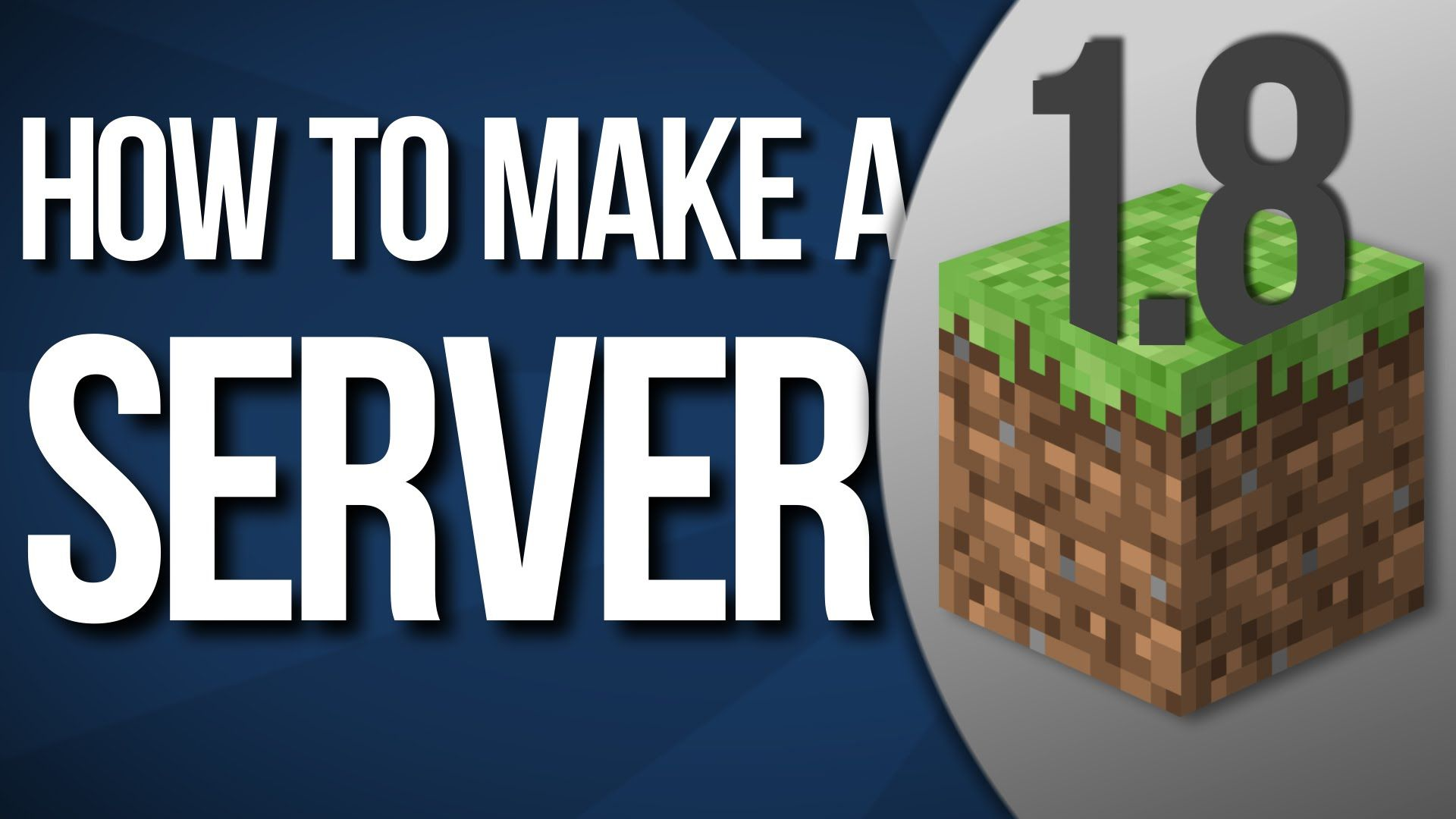 How to Make a Minecraft Server 1.8.9 [Animated Tutorial