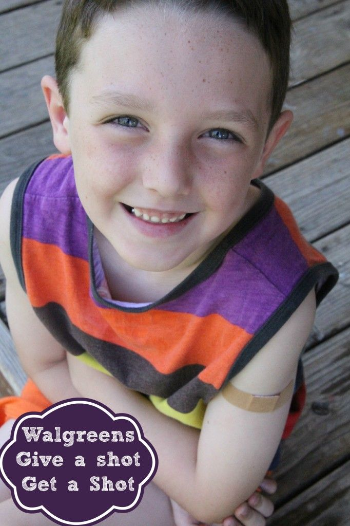 Walgreens give a shot, get a shot campaign so when your kids get their back to school shots, Walgreens will give a shot to a child in need! #giveashot #collectivebias #ad http://asweetpotatopie.com/2014/08/12/walgreens-give-shot-get-shot/