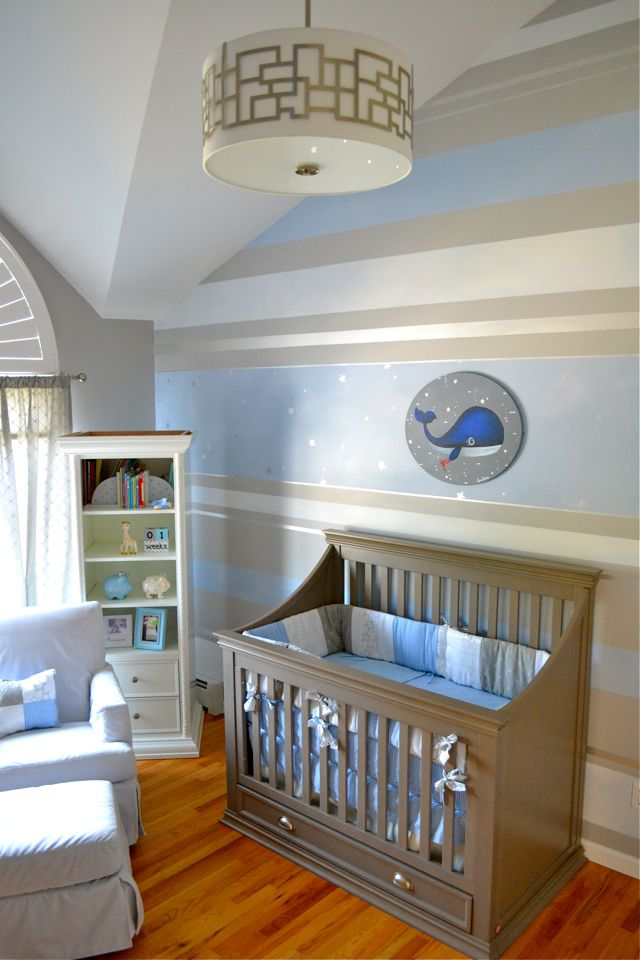 Design Reveal The Stripe And The Whale Baby Boy Rooms Nursery
