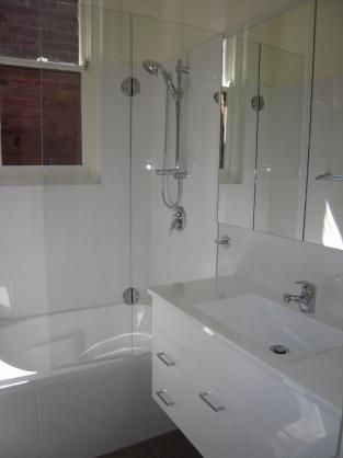 Bath Shower Combo Ideas By On Budget Home Makeover Bathroom - Bathroom shower makeovers on a budget