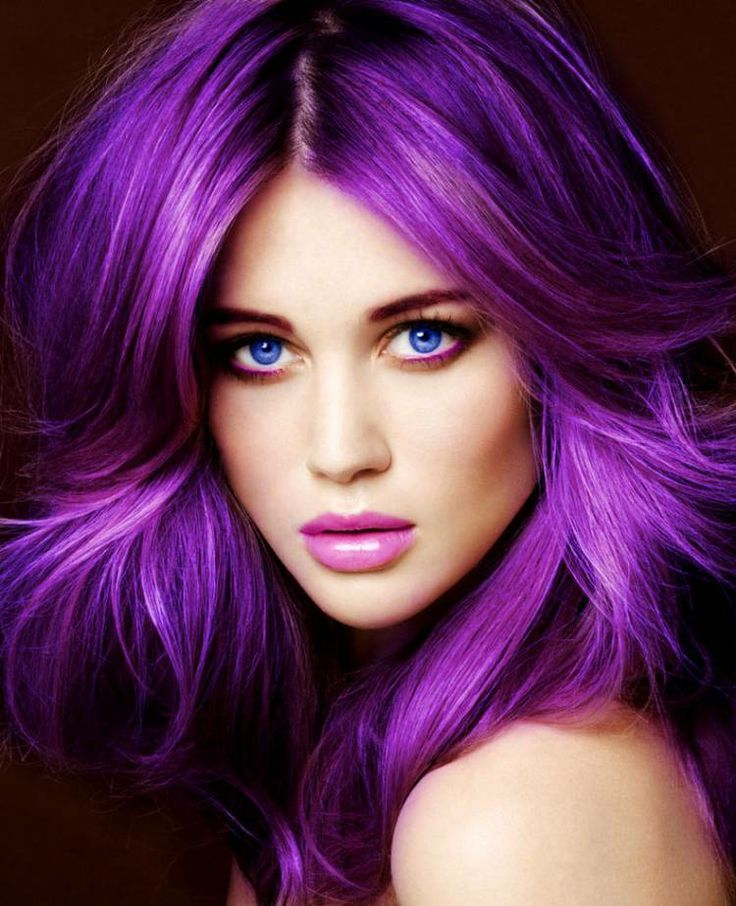 Radiant Orchid Is The Hair Color Of The Moment Beauty Rival Beauty