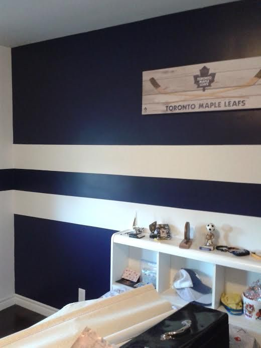 The Ultimate Quot Toronto Maple Leaf Quot Room Benjamin Moore