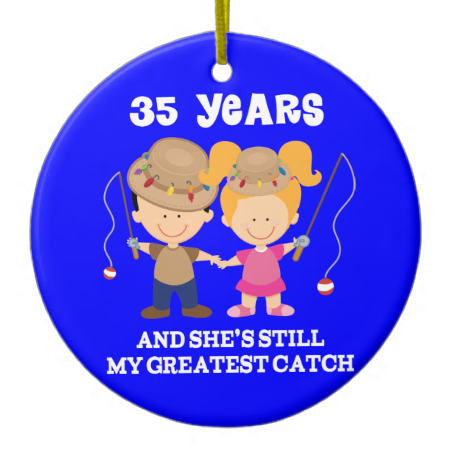 35th Wedding Anniversary Funny Gift For Him Ceramic
