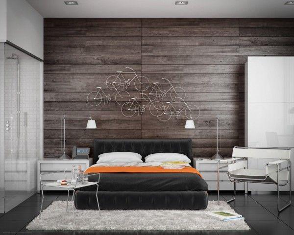 20 idées décoration chambre à coucher Wood paneling, Woods and Walls