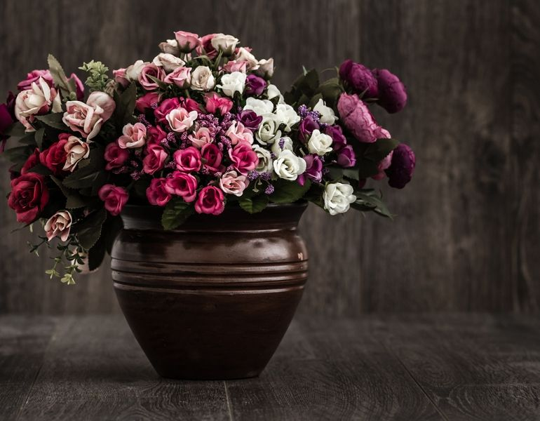Are Conferred By Blooms Decor Silk Flowers Artificial Flowers Flowers