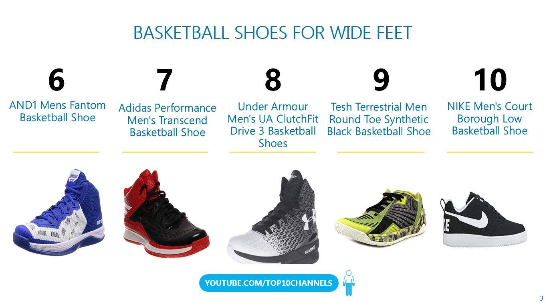 3db1de2d1ce7a Top 10 BEST BASKETBALL SHOES FOR WIDE FEET 2018. Good Basketball shoes for  men women