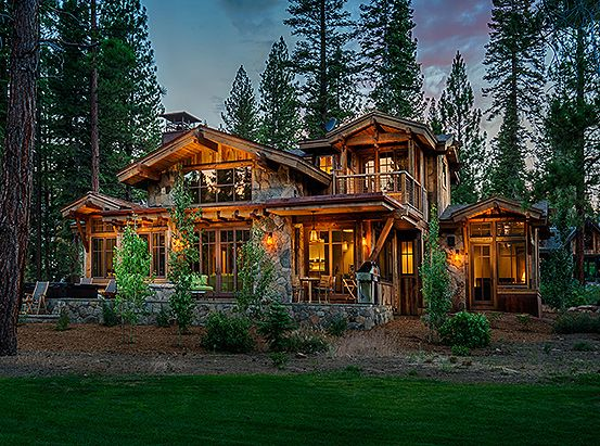 Putter S Cabin 239 Mountain Home Exterior Mountain Dream Homes House In The Woods