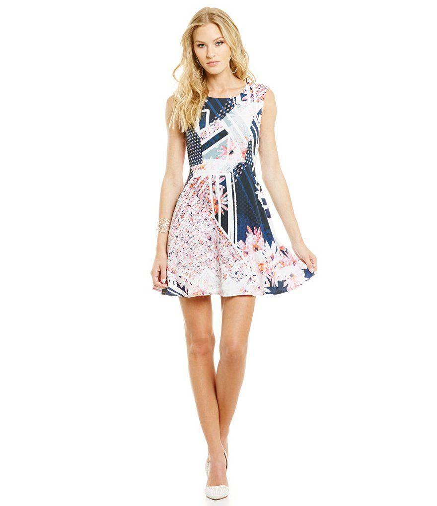 French Connection Samba Avenue Sleeveless Drape Dress | clothes and ...