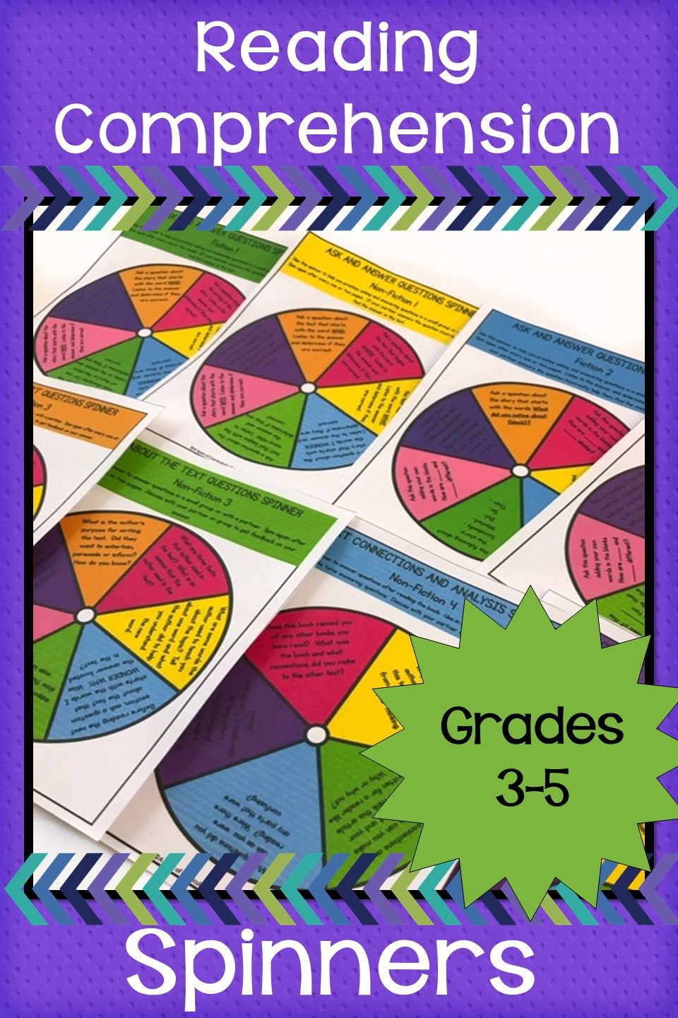 Reading Comprehension Spinners Reading Comprehension Reading Comprehension Activities Improve Reading Comprehension Best reading comprehension books for