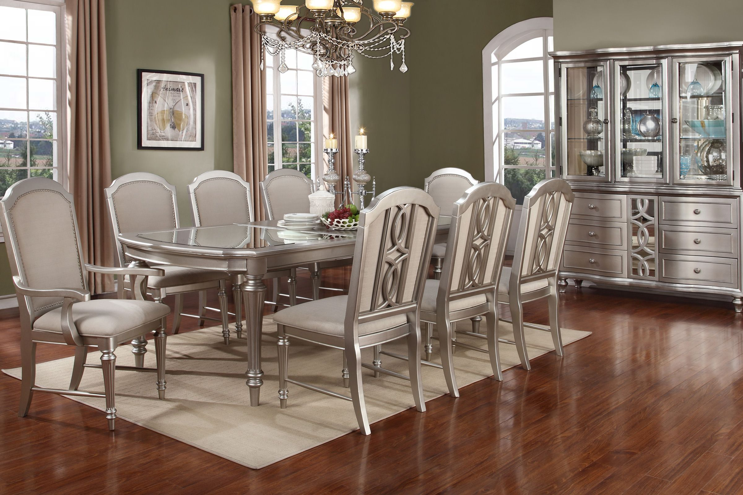 Colleen Dining Table 4 Dining Chairs 2 Arm Chairs Dining Table Legs Dining Chairs Dining Table
