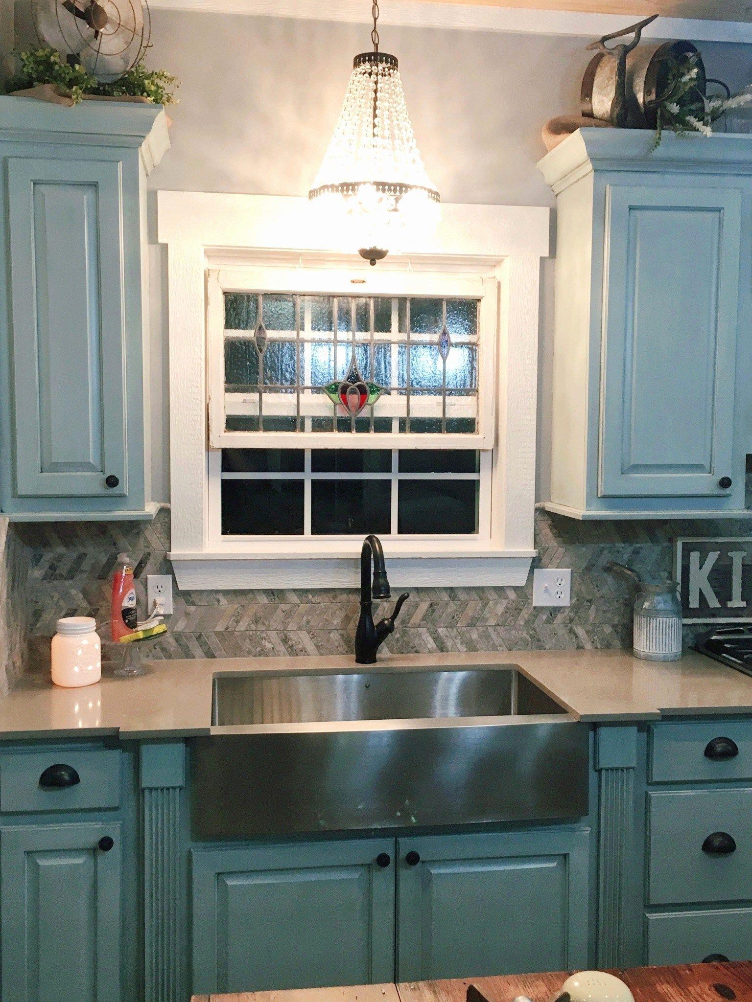 pendant light over kitchen sink