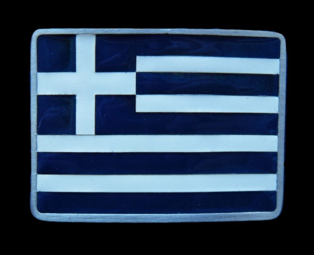 GREEK GREECE INTERNATIONAL BLUE WHITE BELT BUCKLE FLAG BOUCLE DE CEINTURE #GREEK #GREECE #GREEKFLAG #GREECEFLAG #FLAG #FLAGBUCKLE #BELTBUCKLE