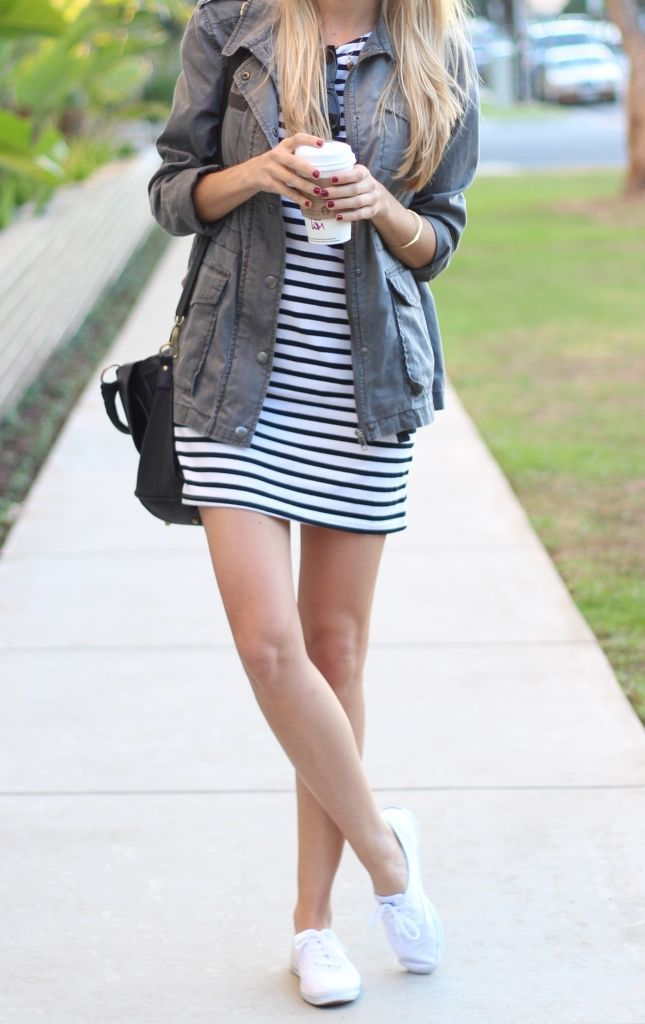 6387cfdeeb14 The Classics   STYLE   My Outfits   Casual dress outfits, Keds shoes ...