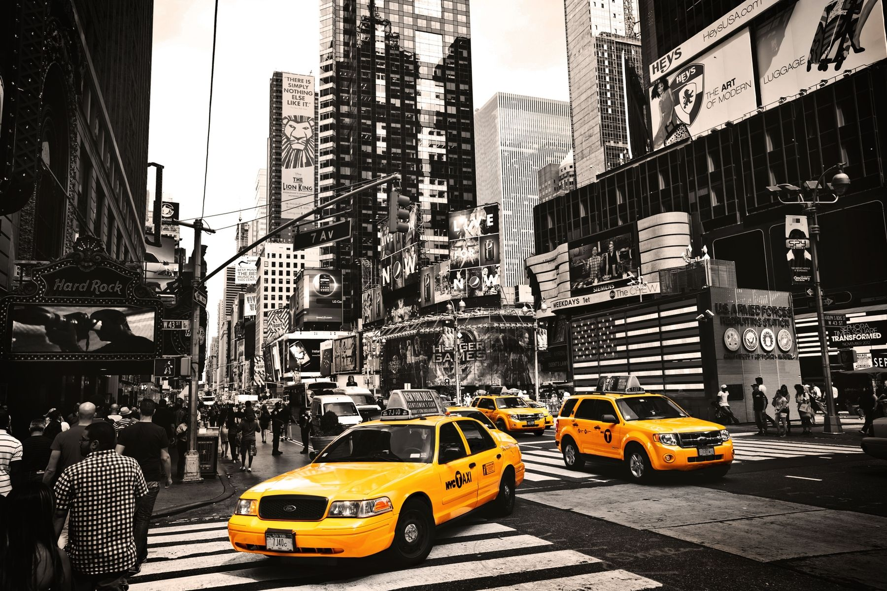 Yellow Taxis Wallpaper New York Pictures New York Taxi Yellow Taxi
