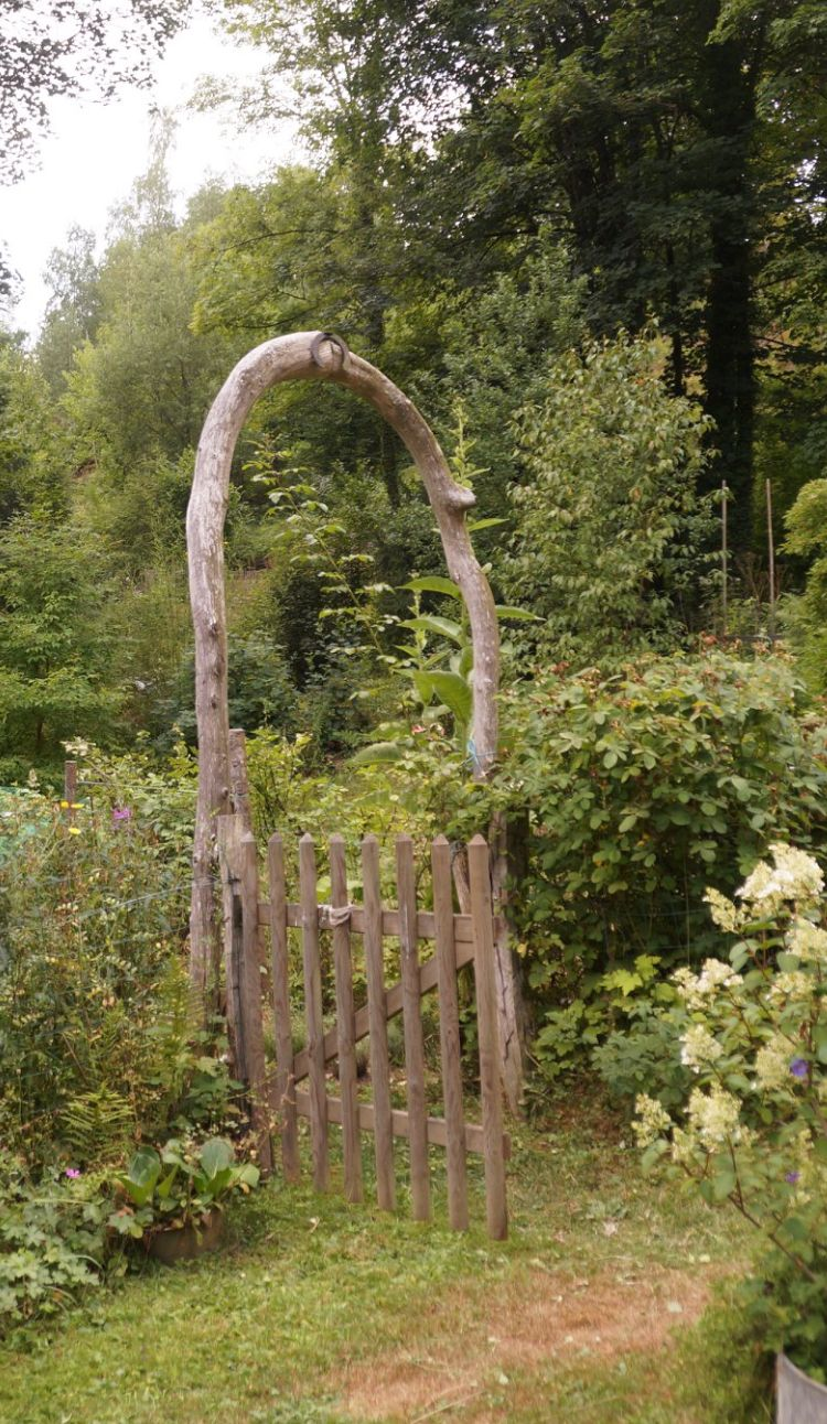 Torbogen Torbogen Gartentor Rosenbogen