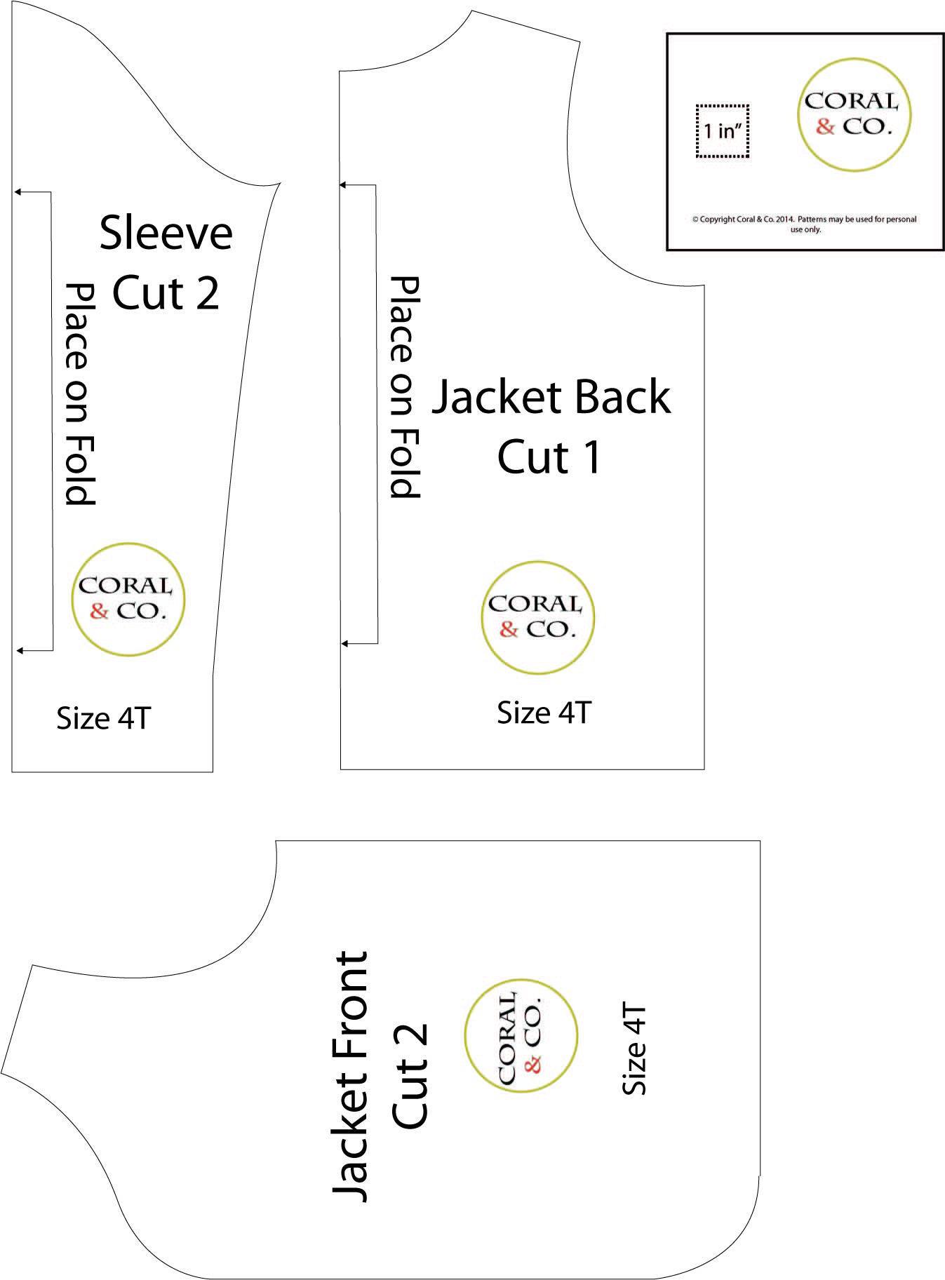 Jacket Patterns Free : jacket, patterns, Girls, Pattern, Tutorial, Jacket, Sewing,, Sewing, Patterns, Free,, Knitted
