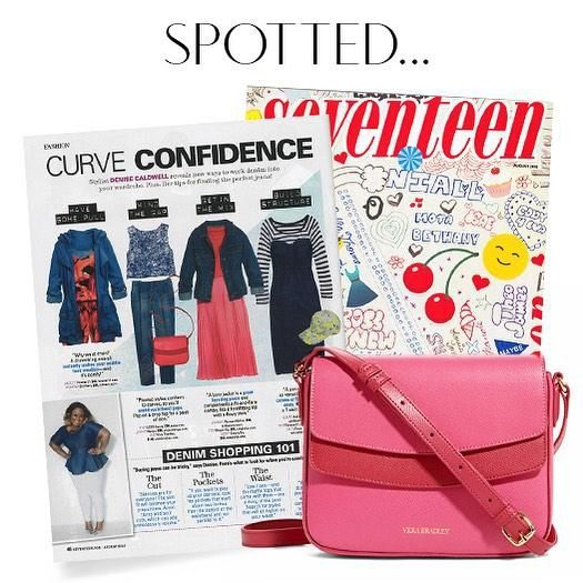 Pick up an issue of Seventeen Magazine this August to see how they styled our Twice As Nice Crossbody for back to school!