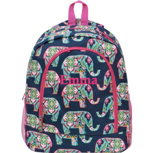 Monogrammed Backpack / Great for school backpack / girls ...