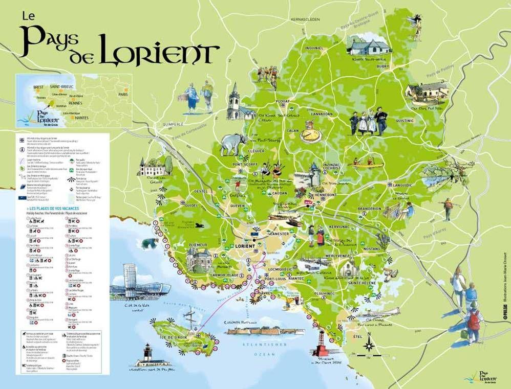 Lorient Bretagne | PHOTO LORIENT : Photos Images Lorient 56100 - Carte France | bretagne ...