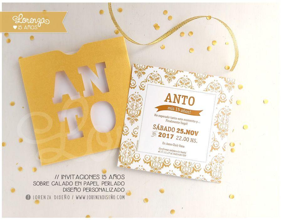 Invitaciones de 15, sobre calado. Diseño personalizado! LORENZADISEÑO.COM / infolorenza@gmail.com C.a.b.a. Argentina - Envíos a todo el país. #invitacionesde15 #sobrescalados