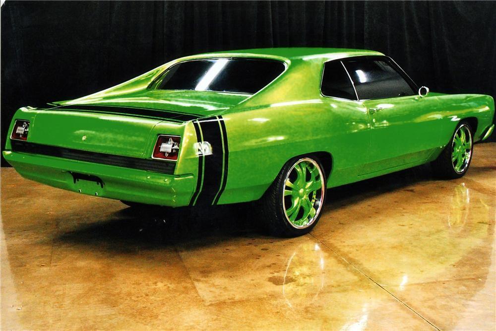 1969 Ford Galaxie 500 Custom 2 Door Fastback Barrett Jackson