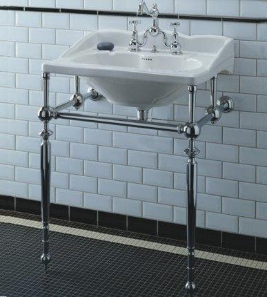 436b60b466f Empire Washbasin   Metal Washstand. Empire Washbasin  amp  Metal Washstand  Douche Metro
