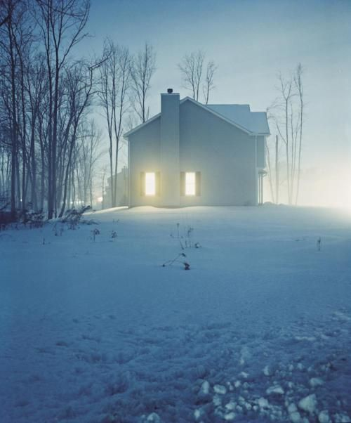 house hunting series #2423-a, 1999 • todd hido