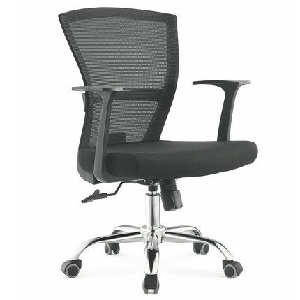 Best Comfortable Cheap Black Staff Mesh Office Chair Meeting 400 x 300