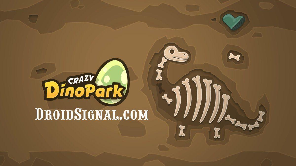 Download Crazy Dino Park Mod Apk v1.67 Unlimited Gems