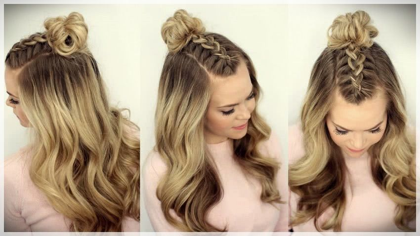 90 Hairstyles With Loose Hair 2019 Womens Haircuts 2019 French