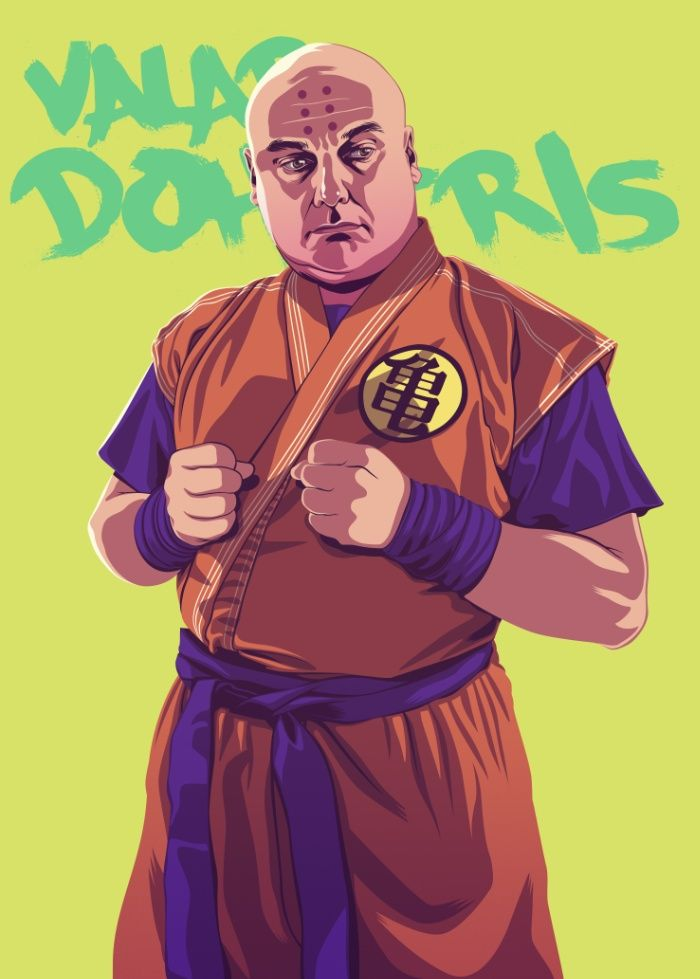Varys – GoT characters in the 1980s-1990s, by Mike Wrobel https://society6.com/moshikun/collection/8090s-game-of-thrones