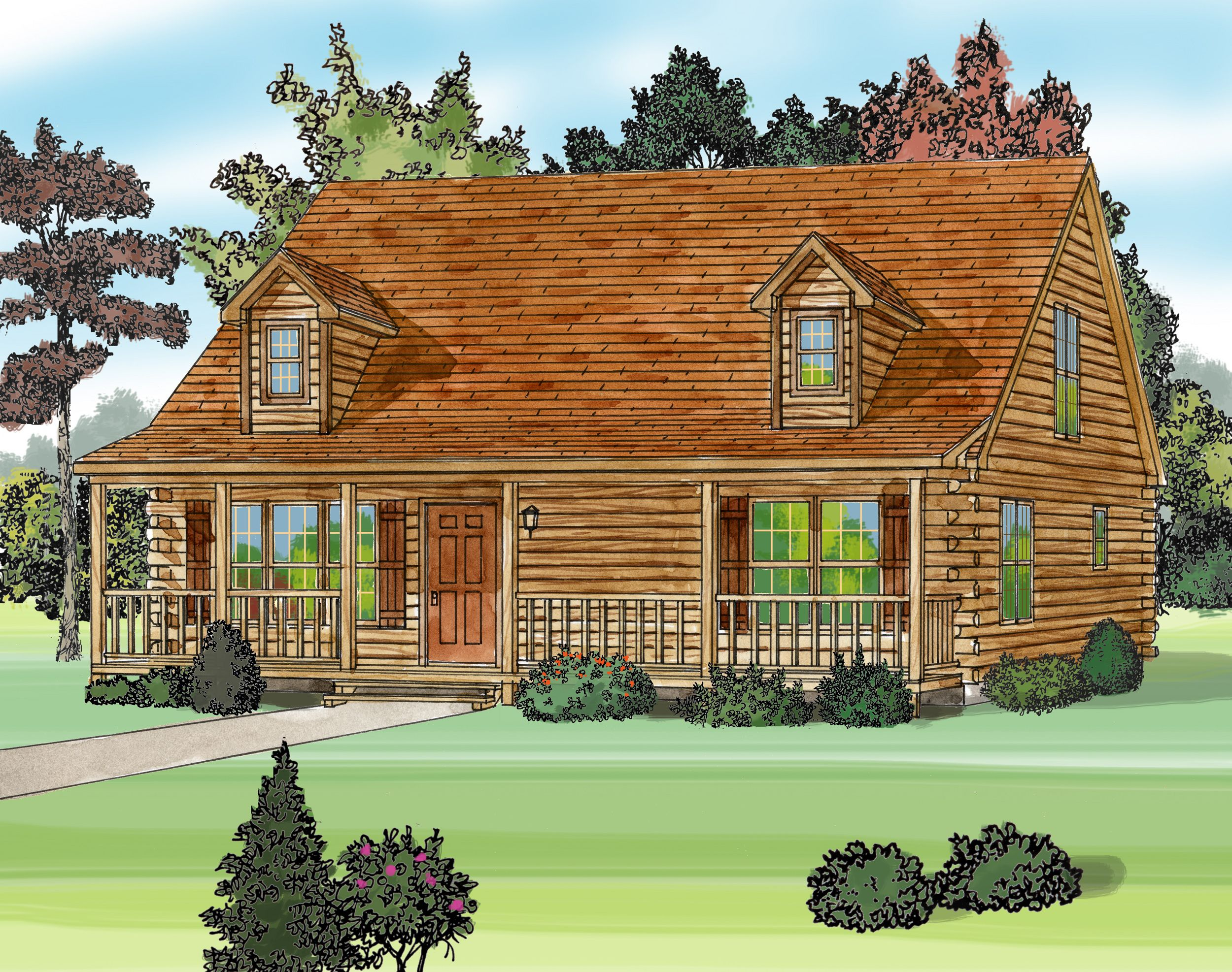 Log Home Plans And Prices Ny Home Design And Style Homehome Plans