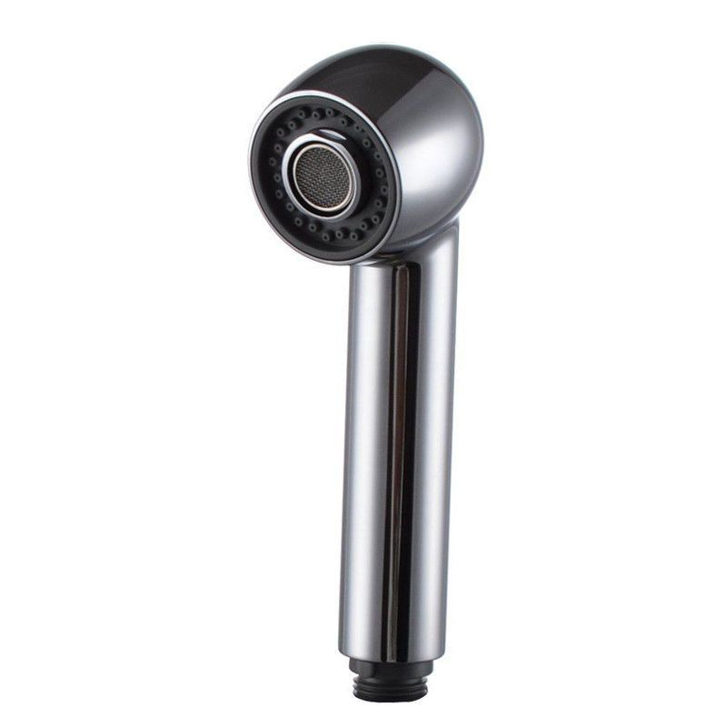 Brushed Nickel Abs Pull Out Spray Kitchen Faucet Replacement Shower Head