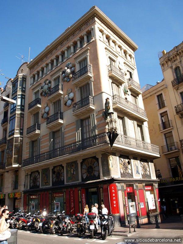 Casa De Los Paraguas Rambla Barcelona Barcelona Ciudades Casas