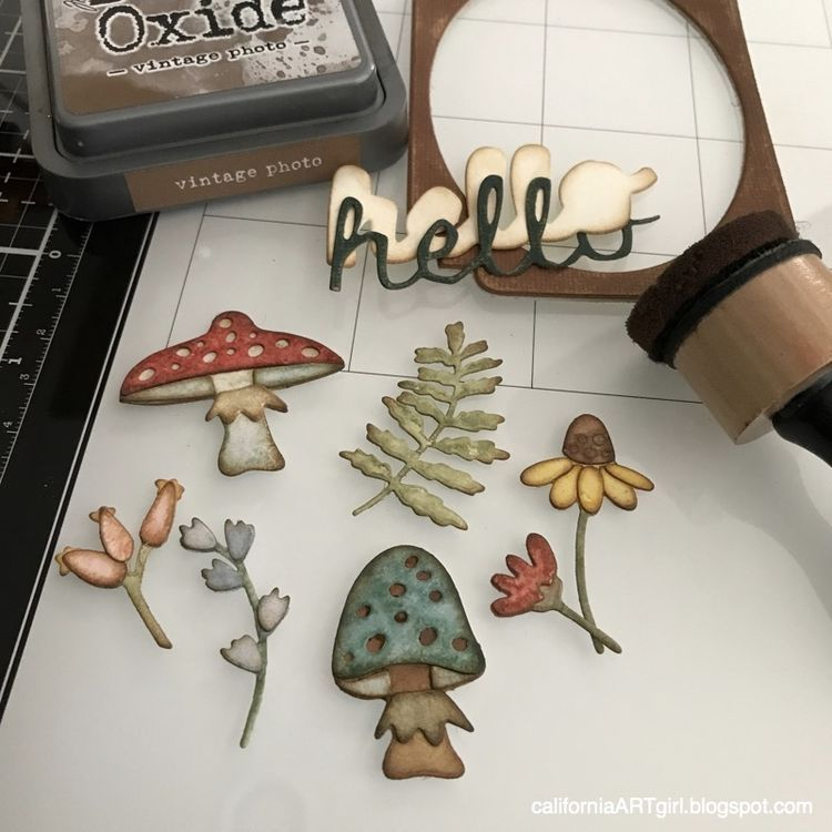Multicolor Sizzix 663087 Thinlits Dies Funky Foliage by Tim Holtz us:one Size 16-Pack