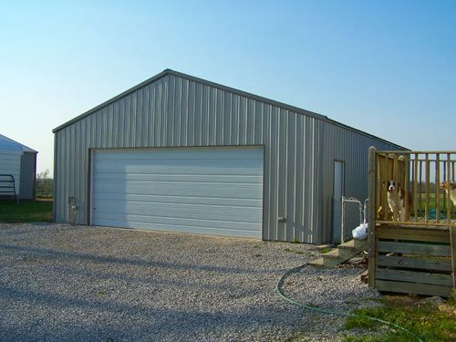 Prefabricated Steel Garage Buildings And Kits Worldwidesteelbuldings Steel Buildings Metal Garage Buildings Metal Garages