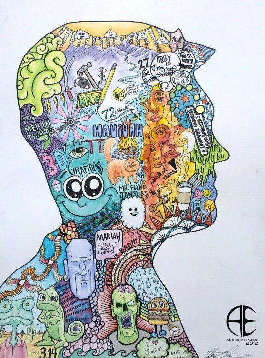 Selfportrait School Jpg 533 720 School Art Projects Art
