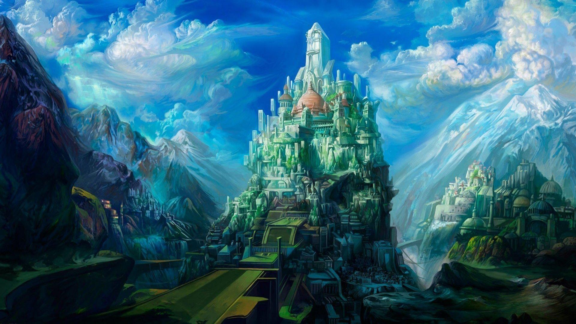 magic castle fantasy world - photo #22