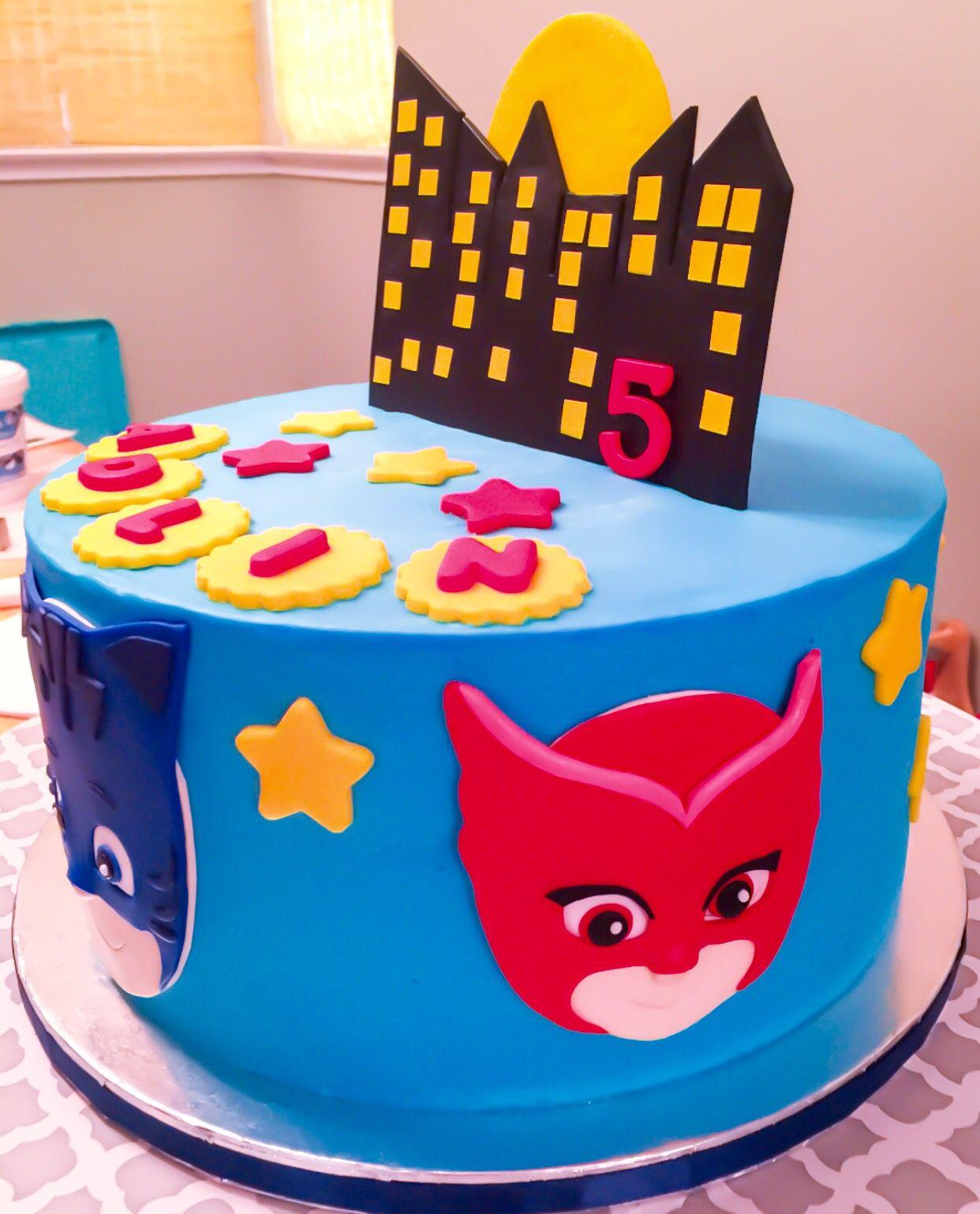Pj mask cake festividades tortas para ni os - Bizcocho cumpleanos para ninos ...