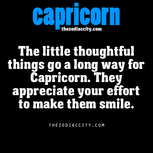 Understand how to make a capricorn woman happy opinion