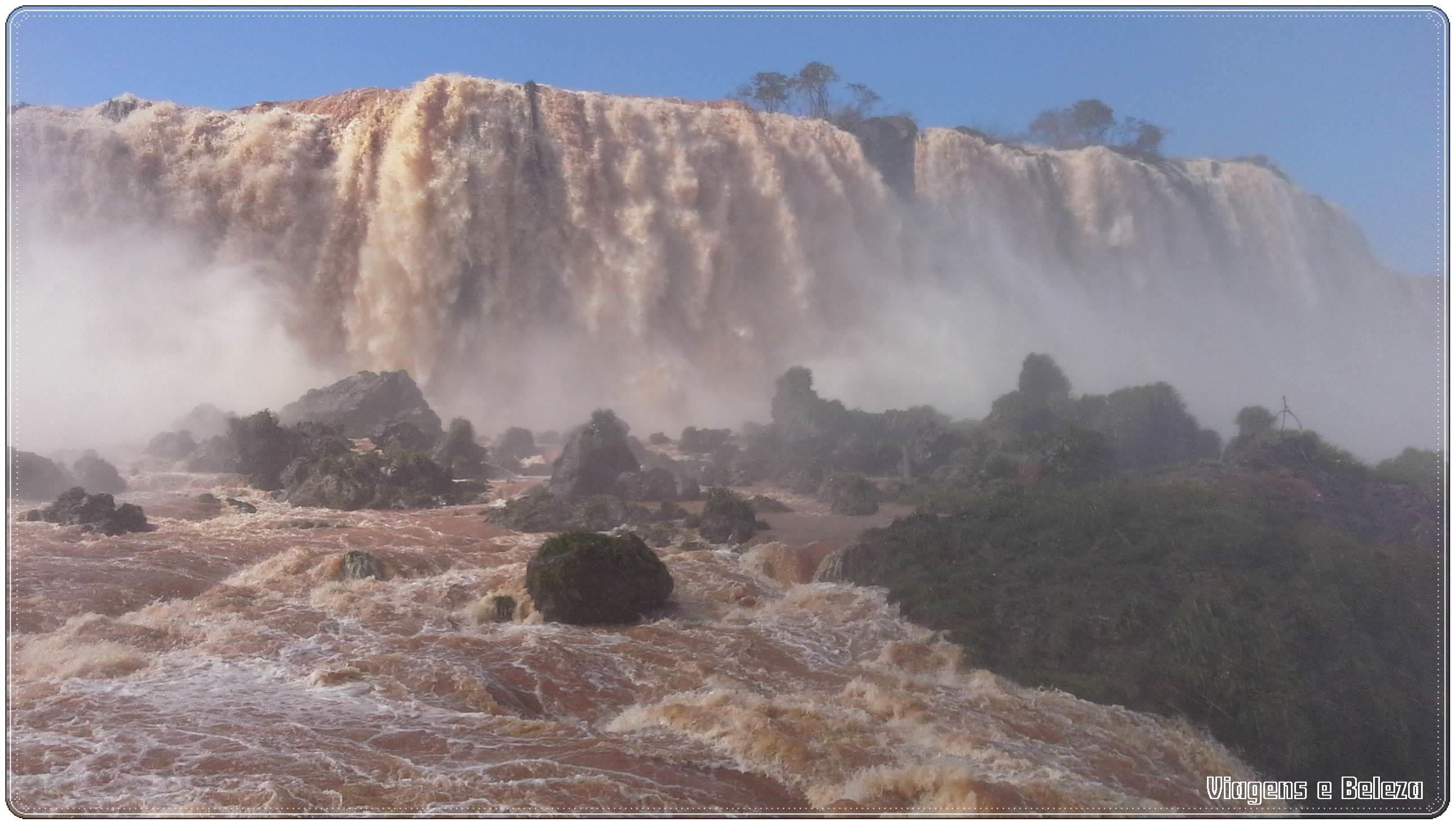 Garganta do Diabo - Cataratas do Iguaçu - Foz do Iguaçu/PR - Julho 2014