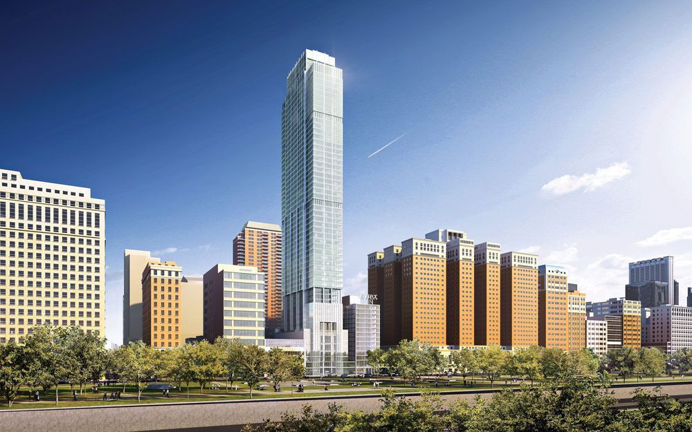 Chicago's 56-story Essex on the Park tower granted full construction permit - Curbed Chicago