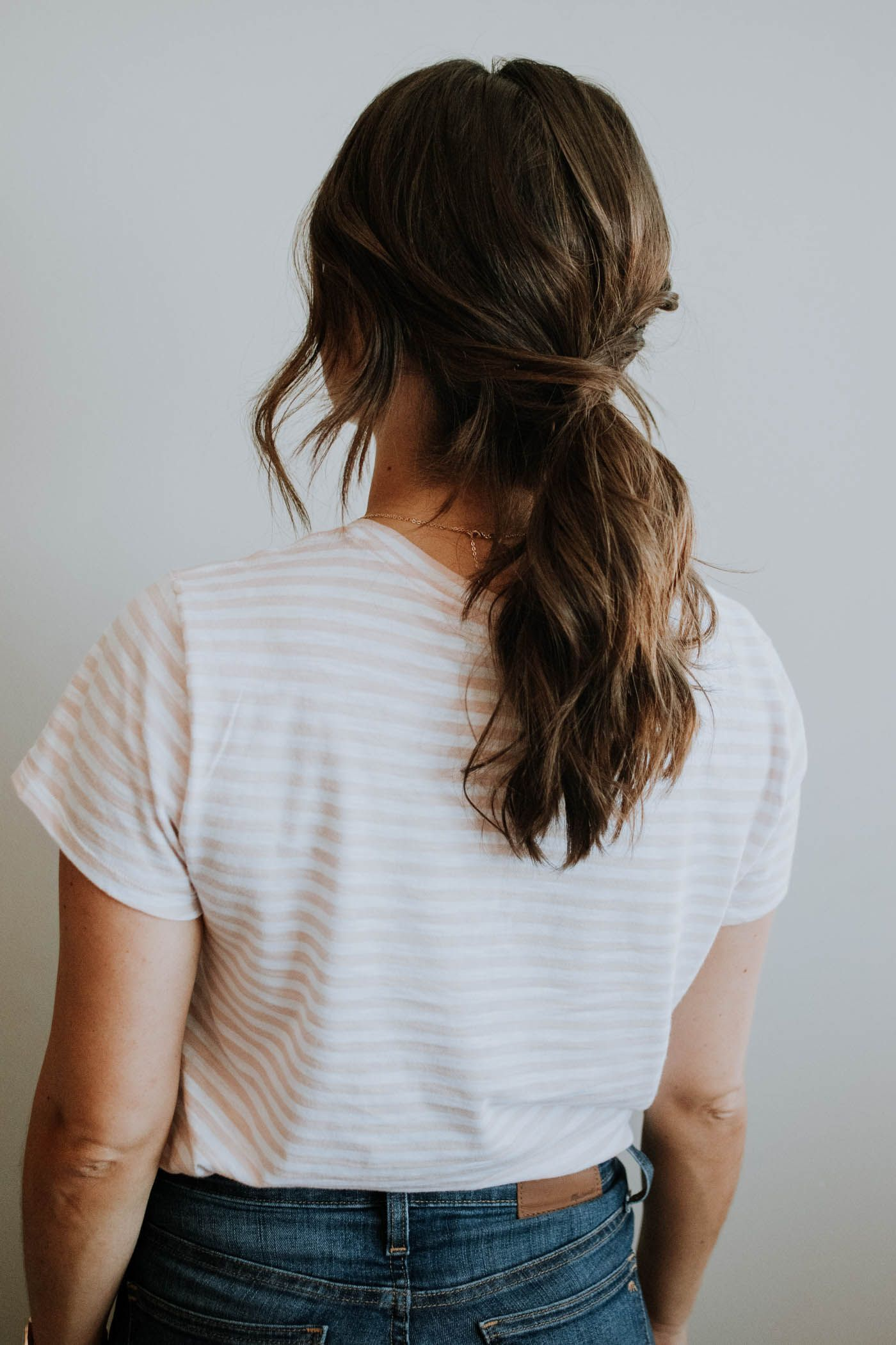 An Easy Low Ponytail Hairstyle For Any Occassion   Low ...