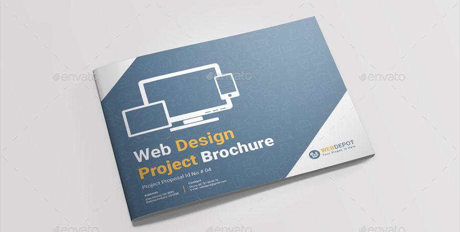 Landscape Web Design Project Brochure Project Brochures Web Design Web Design Projects