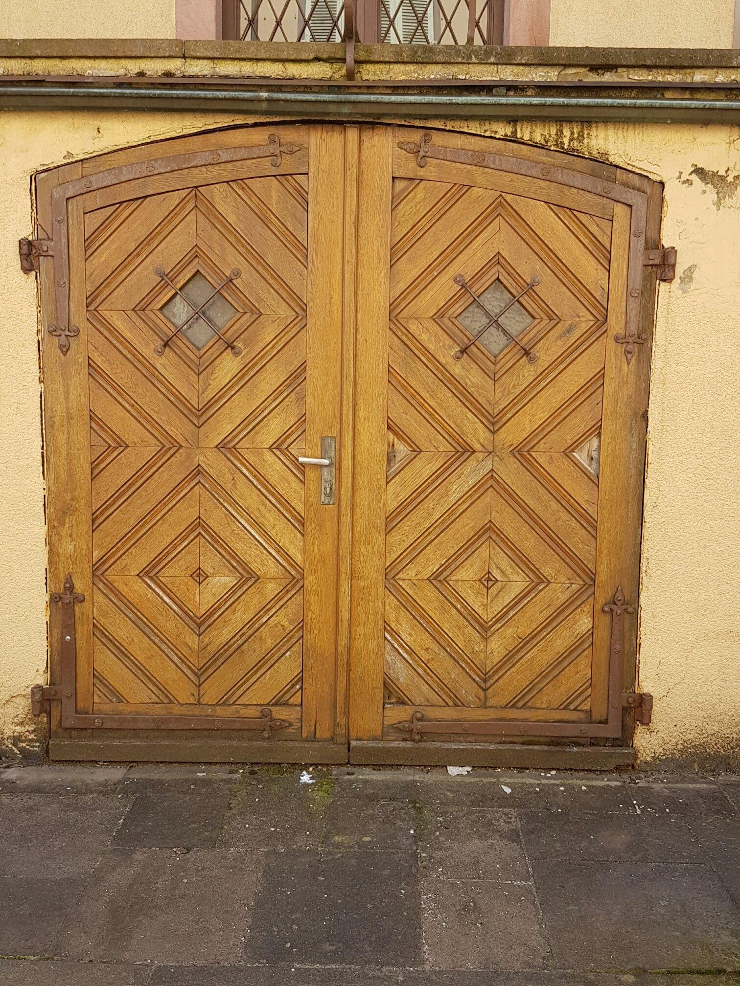 A kaleidoscope doors from France. #frenchdoors #antiquedoors #externalantiquedoors
