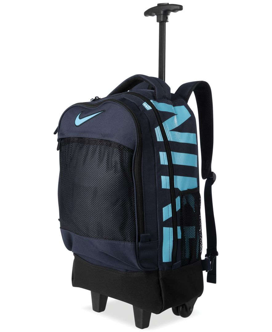 41e01875de Nike Boys  or Girls  Rolling Backpack