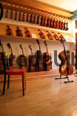 violin display - Google Search | Music Store | Violin store