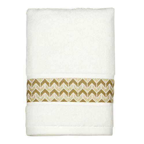 Peri Home Chevron 100 Cotton Hand Towel 15 X 26 Gold Read More Reviews Of The Product By Visiting The Affiliate Link Amazon Com On Towel Set Peri Home Towel